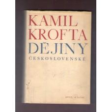 Kamil Krofta : Dějiny československé