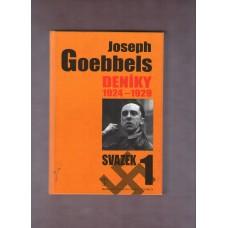 Goebbels Joseph : Deníky 1 1924 - 1929