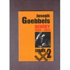 Goebbels Joseph : Deníky 2 - 1930 - 1934