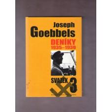 Goebbels Joseph : Deníky 3 - 1935 - 1939